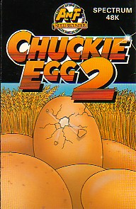 Chuckie Egg 2 ANF Cover Art