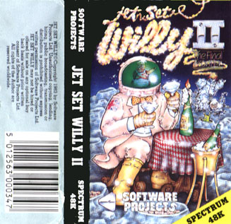 Jet Set Willy II Cover