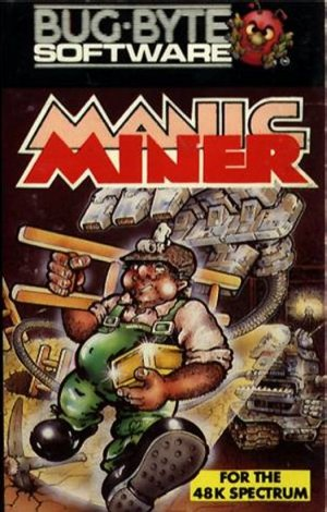 Manic Miner Cover 2