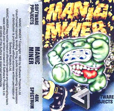 Manic Miner Cover 3