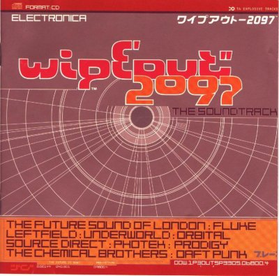 WipEout 2097 CD Cover