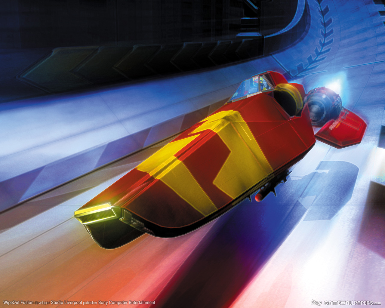 WipEout Fusion Ship