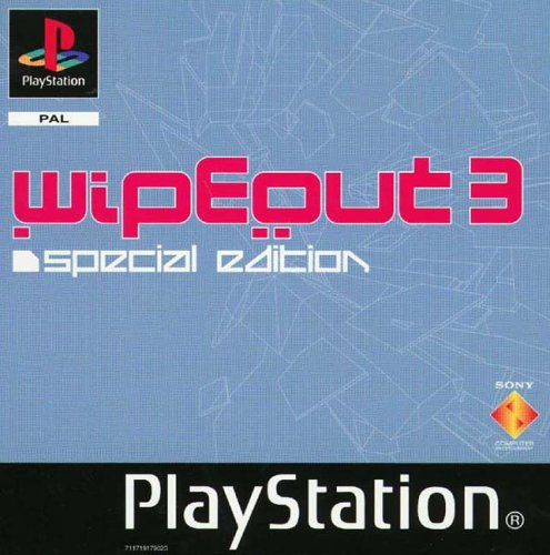 WipEout 3SE Cover PS1